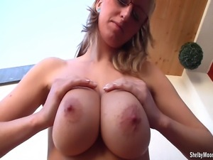 What a combination! Big, really BIG boobs ready for some nasty fun! Shelby...