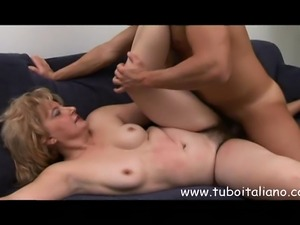 Italian Blonde Hot Mature Matura