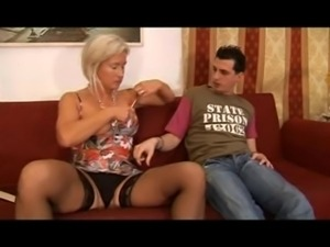 Hot Blonde Italian Mother