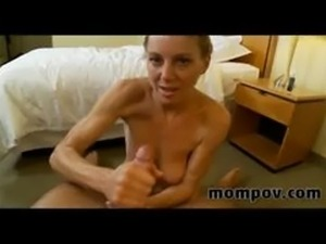 Old housewife sucking and fucking my cock
