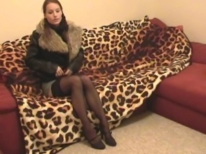 best footjob in stockings and blowjob