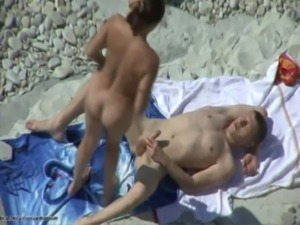 beach fun big cock free