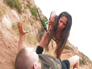 Jenaveve jolie hunts Mr. Pete