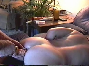 fuckin wife in ass with dildo while I fuck her pussy