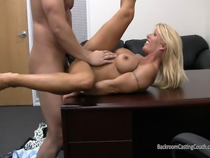 Bodybuilder MILF Audition