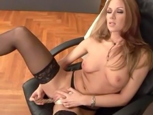 Julia Taylor Smoking & Masturbating
