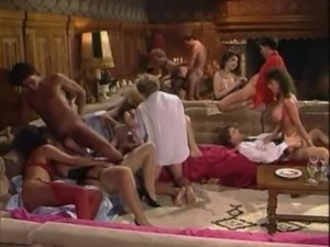 Sarah Young - Dirty Woman 2 - orgy scene with double penetration free