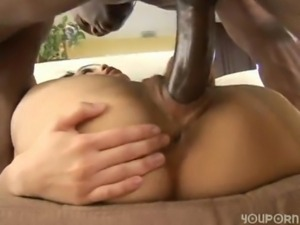 Asian Girl and Black Guy 45 free
