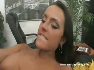 Old Boss Fucks Young Sexy Secretary