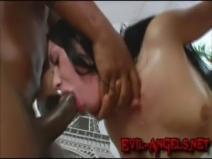 Humongus monster cock double anal penetration! free