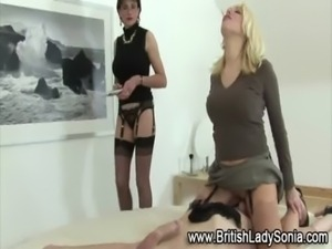 British femdom british sluts punish bound man free