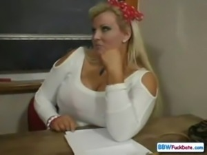 BBW Extra Large Collage Teacher free