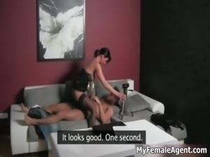 Sexy brunette babe goes crazy riding part5