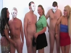 CFNM housewives toying with cocks free