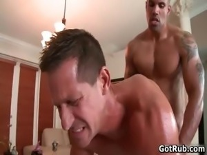 Beefcake black stud fucks muscled gay part2
