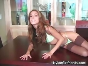 Amazing brunette girl Jenna Haze part5