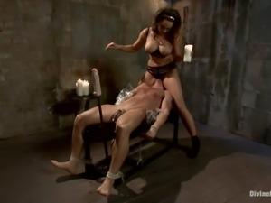 sex slave at the mercy of his mistress