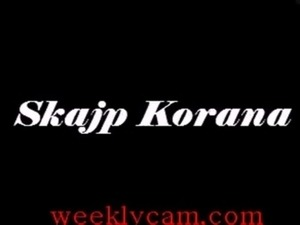 Korana Exposese herself On Webcam -WeeklyCam.com free