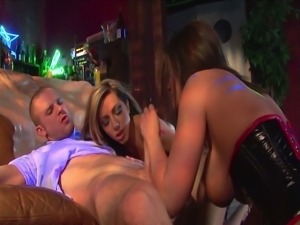 Lela star and austin kincaid screw a lucky guy