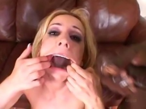 Kelly Wells Black DP, anal and swallow
