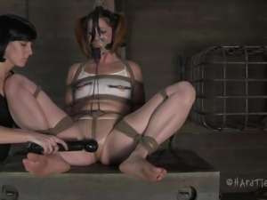 tied hard and punished harder