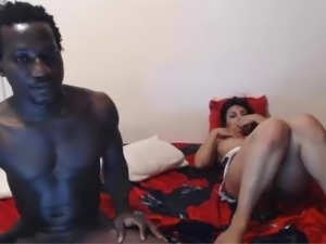 Webcam Interracial Couple