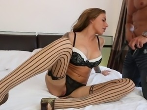 Juelz Ventura in stockings fucked good