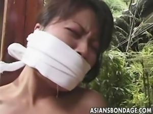 Japanese bondage video rope and tied