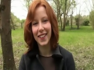 Sade a cute redhead gangbanged by 4 guys free