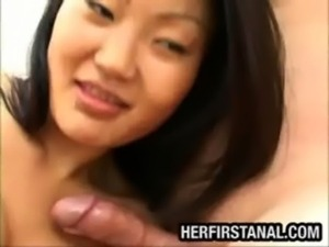 Big tit Asian anal fucked free