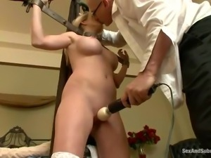 pain and pleasure punishment for bad girl angela