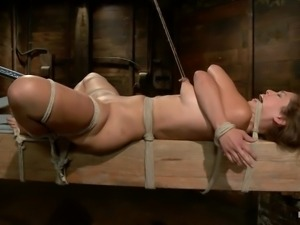 extreme bondage and punishment with audrey rose