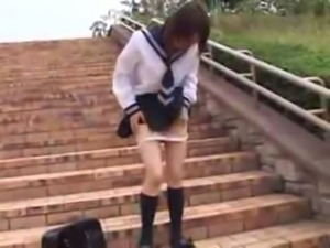 Asian Schoolgirl Public Suck and Fuck free