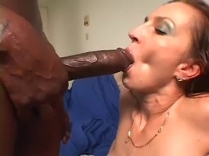 Hot Cougar Squirt for black man with huge cock