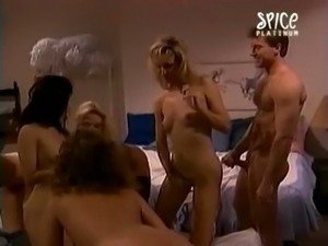 Cheerleader Nurses - Orgy Scene