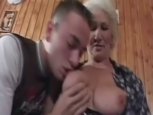 Cock starved grandma free
