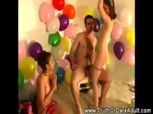 Teen amateur babes at group party wanting action free