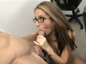 Secretary jenna does anal