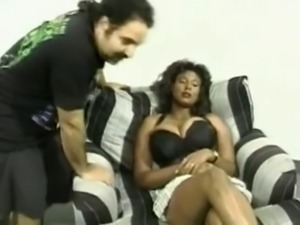 Toi Clayton and Ron Jeremy