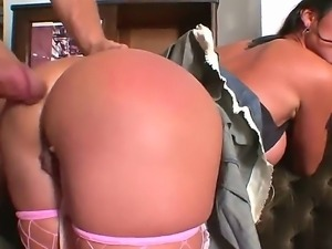 Sweet Sugar demonstrates her big fuckable butt and plays with Nacho in...