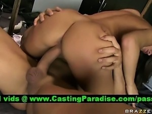 Madelyn Marie busty nurse gets pussy fucked