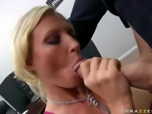 Big cocked guy Johnny Sins pulls out his heavy tool