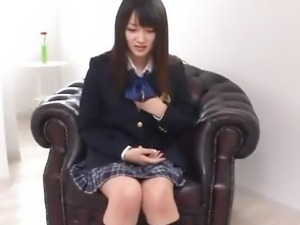Nana Usami Gets Creampied In Her School Uniform
