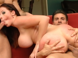 Gianna Michaels having sperm on her beautiful and hot face