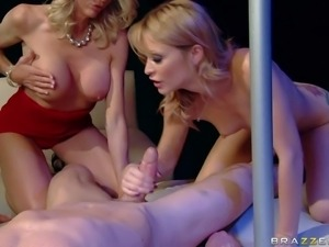 Emma Starr and Monique Alexander are two hot bodied milfs