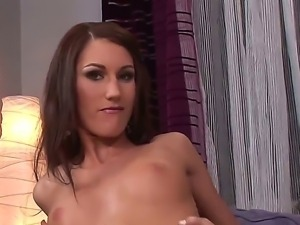 Skinny but very sexy and naughty lady with tanned skin Josette Most...