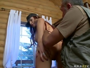 Ultra hot busty brunette Amy Ried and Keiran Lee have