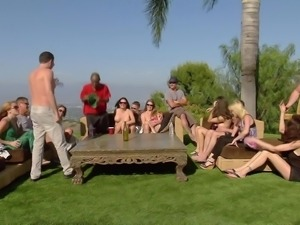 swingers get introduced to each other