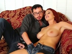 Busty Jessica Robbin loves having her tight vag getting deep drilled in nasty...