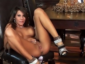 Busty and glamorous girl named Madison Ivy masturbates and shows her gorgeous...